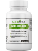 Insulin Health - Natural Supplement for Metabolic Function, Blood Sugar and Weight Management - With Berberine, Alpha Lipoic Acid and Olive Leaf Extract - 60 Capsules