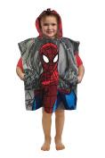 Marvel Spiderman Woosh & Thwip Official 'Pocket Frenz' Cotton Bath/Beach Hooded Towel