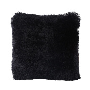 Faux Fur Pillow Cover, FabricMCC Decorative Super Soft Plush Mongolian Faux Fur Throw Pillow Cover Cushion Case