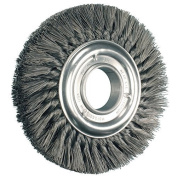 20cm Knot Wheel Brush Double Row .012 Cs Wire
