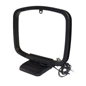 HQRP AM Loop Antenna Aerial or Indoor Home Audio Receiver + HQRP Coaster