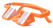 YY Plasfun Belay Glasses (Orange) To Help You Stay Safe and Prevent Neck Pain and Headaches When Climbing