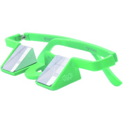 YY Plasfun Belay Glasses (Green) To Help You Stay Safe and Prevent Neck Pain and Headaches When Climbing