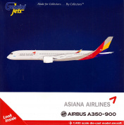 GEMGJ1631 1:400 Gemini Jets Asiana Airlines Airbus A350-900 Reg #HL807