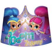 Shimmer and Shine Party Tiaras Crowns Favours Birthday Girl Princess 24 Pieces