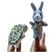 Finger Puppet Toys, VIASA Animal Finger Puppet Plush Toys For Kids 2pcs