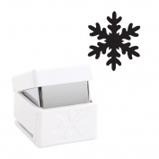 Xcut Handheld Paper Card Shape Medium Palm Punch - Christmas Snow Crystal