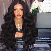 Ten Chopstics . Glueless Full Lace Human Hair Wigs 100% Brazilian Virgin Hair Loose Wave Lace Front Human Hair Wigs 150 Density Middle Part Body Wave Full Lace Wig For Black Woman