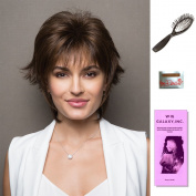 Millie by Noriko, Wig Galaxy Hair Loss Booklet, 60ml Travel Size Wig Shampoo, Wig Cap, & Loop Brush (Bundle - 5 Items), Colour Chosen