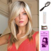 Milan by Noriko, Wig Galaxy Hair Loss Booklet, 60ml Travel Size Wig Shampoo, Wig Cap, & Loop Brush (Bundle - 5 Items), Colour Chosen
