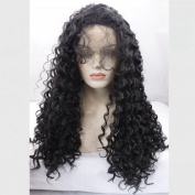 Synthetic Lace Front Wig For Black Women Kinky Curly Lace Wig Synthetic Heat Resistant Fibre Hair Wigs