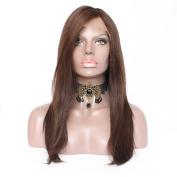 Jolitime Hair Brown Colour Full Lace Human Hair Wigs 150 Density Brazilian Virgin Human Hair Lace Front Wigs Colour #2