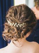 FXmimior Bridal Wedding Crystals Rhinestone Headband Tiara Formal Crown Headdress