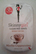 SkinnyGirl Sugar Free Mints Naturally Sweetened, Mocha Cappuccino Flavour, 1 Tin