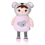 Metoo Cute Anjela Plush Doll Bag Koala Backpack for Kids Girls