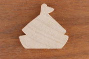 SAIL BOAT Wood 1/8 x 24 PKG 1 laser cut wooden SAIL BOAT by WOODNSHOP
