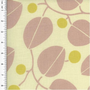 P. Kaufmann Leaf Print Pink Home Decorating Fabric, Fabric Sold By the Yard