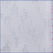 Ice Blue Slubbed Mesh, Fabric Sold By the Yard