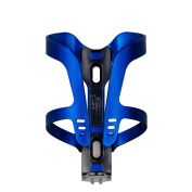 MEETLOCKS Bike Water Bottle Cage, Ultra Quality Spring Aluminium Body,BLACK & SILVER & RED & BLUE colour, No Screw Inculded, 42Grams a Pair
