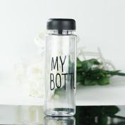 Clear My Bottle Sport Fruit Juice Water Cup Portable 500ML Travel Bottle