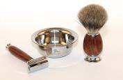 Orchid Spice Safety razor shaving kit