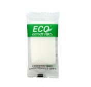 ECO Amenities Spa Sachet Individually Wrapped 15ml Cleaning Soap, 200 Bars per Case