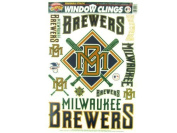Milwaukee Brewers Window Cling Decals