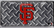 San Francisco Giants Diamond Licence Plate