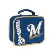 MLB Milwaukee Brewers Sacked Lunchbox, 27cm , Royal