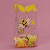 Bumblebee Clear Cello Bags - 9.5 x 6.4cm x 10cm .