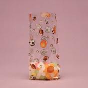 Sports Mix Clear Cello Bags - 9.5 x 6.4cm x 10cm .