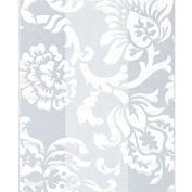 White Floral Damask Clear Cello Bags - 7.5 x 8.9cm x 5.1cm .