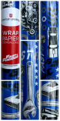 American Greetings The Fate of the Furious-Fast and Furious 8 Gift Wrapping Paper 1.9sqm Roll