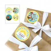 Teacher Appreciation Gift Stickers - 4 Piece