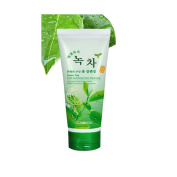 Green Tea Extract Hydration Fresh Soothing Facial Washer Foam Cleansing