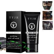 Black Mask,Molie Blackhead Mask Peel-off Mask Blackhead Remover Mask Activated Natural Charcoal Black Mask