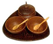 NareeGreen SPA set bowl for Massage Oils Cream , Facial Mask , Salt Spa Body Care