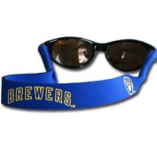 Milwaukee Brewers Neoprene Sunglass Strap (Croakies) - MLB Baseball Fan Shop Sports Team Merchandise by Siski You