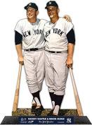 Mickey Mantle & Roger Maris New York Yankees StandZ Action Photo Desktop Display