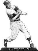 Mickey Mantle New York Yankees StandZ Action Photo Desktop Display