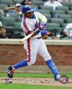 New York Mets Yoenis Cespedes At The Plate, 8x10 Photo Picture