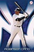 (22 X 34) New York Yankees Robinson Cano Poster Print