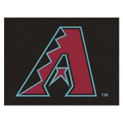 Fanmats Home Indoor Sports Team Logo Mat Arizona Diamondbacks All-Star Rugs 90cm x 110cm