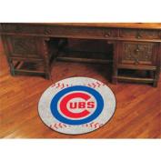 Fanmats Sports Team Logo MLB - Chicago Cubs Baseball Mat
