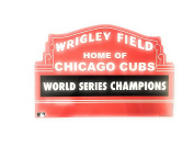 CUBS 2016 WORLD SERIES CHAMPIONS WRIGLEY MARQUEE PLASTIC SIGN