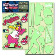 Cleveland Indians Lil' Buddy Glow In The Dark Decal Kit