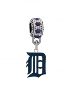 Detroit Tigers Logo Charm
