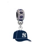 New York Yankees Ball Cap Charm