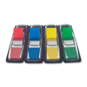 Small Flags in Dispensers, Four Colours, 35/Colour, 4 Dispensers/Pack
