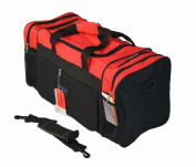 50cm Inch Cargo Duffle Bag luggage RED Sport Bag handle pockets